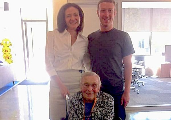 Do you know who Facebook's oldest user is?
