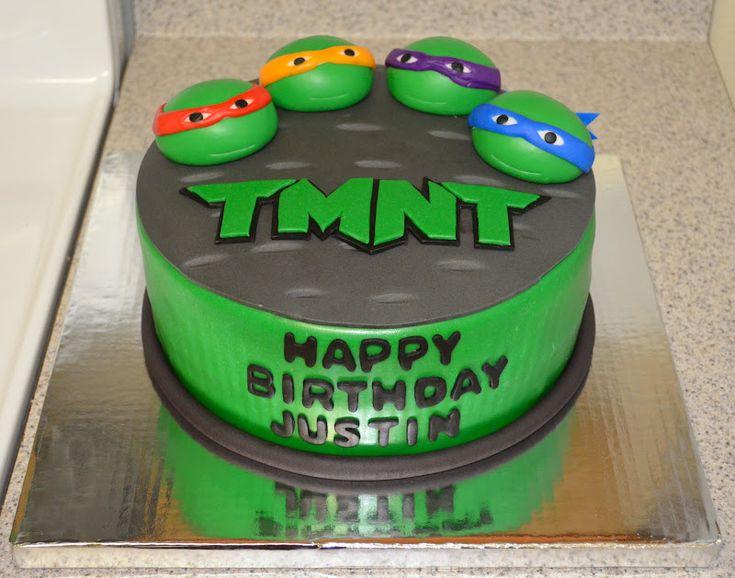 tmnt cakes | SweetCakeRN: Teenage Mutant Ninja Turtles Cake