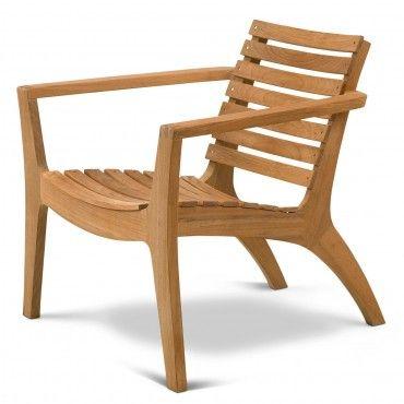 Skagerak Regatta Lounge Stuhl Teak Gartensessel S1508500
