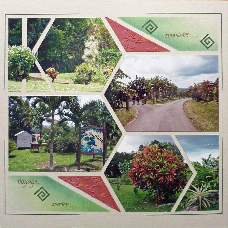 Parc autour de la distillerie Séverin en Guadeloupe. Gabarit BE Respire AZZA