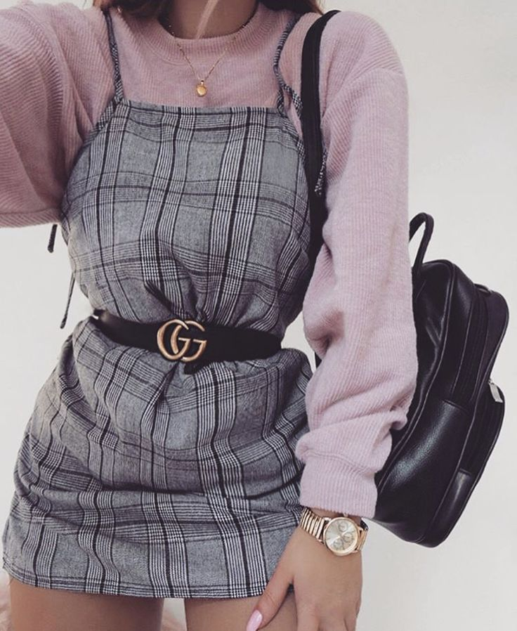 I love the whole look. The Gucci belt is just the perfect detail for every outfit.