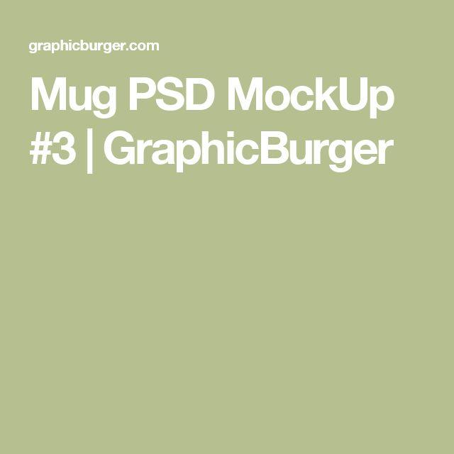 Mug PSD MockUp #3 | GraphicBurger