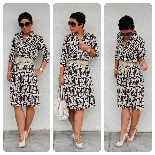 #DIY Dress + New Look Pattern 6180 REVIEW + GIVEAWAY!