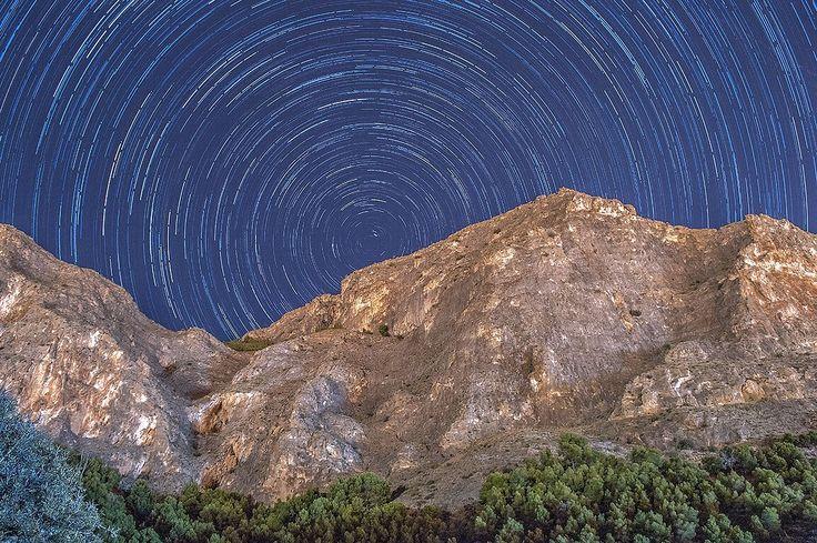 Star Trail - Orihuela, Spain.