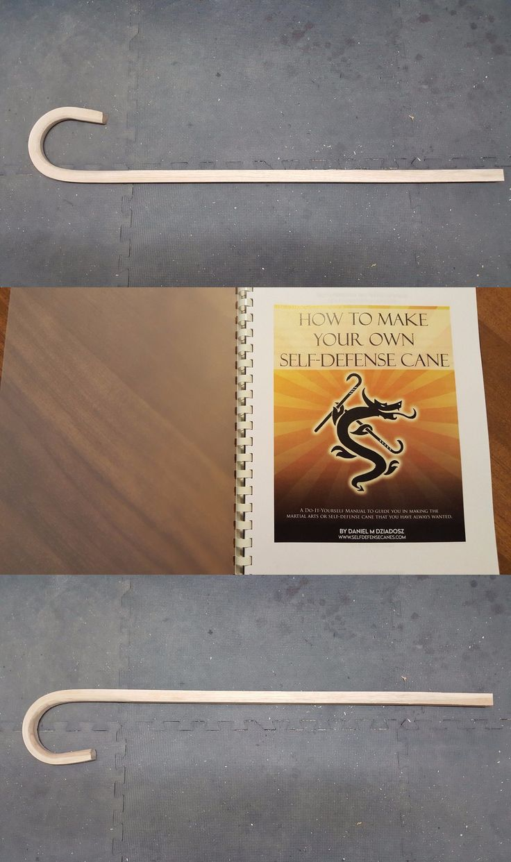 Sticks 179794: Self Defense Cane Blank And How To Make Your Own Book -> BUY IT NOW ONLY: $49 on eBay!