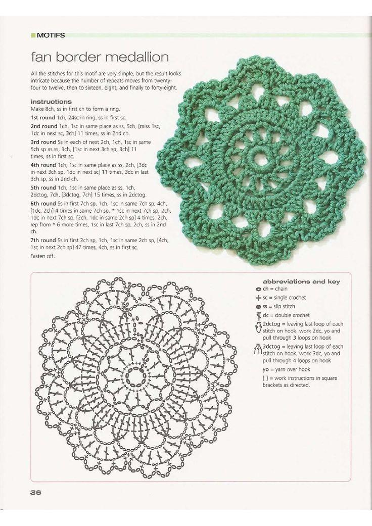 crochet motifs book 1 handknitmania crochet. Black Bedroom Furniture Sets. Home Design Ideas