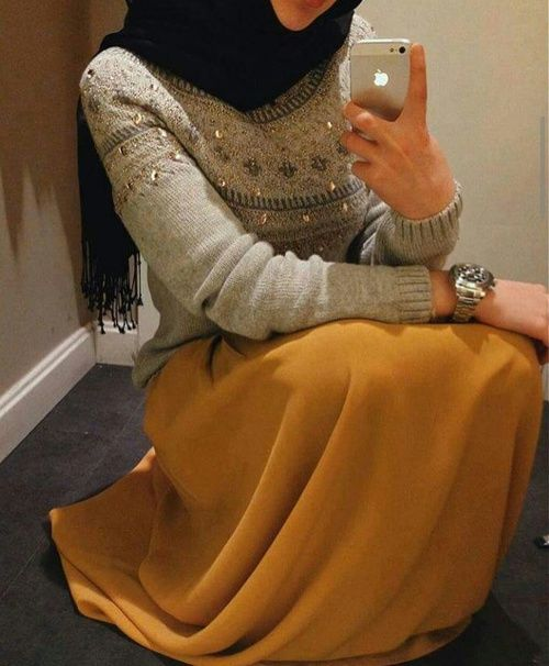 selfie, hijab, and iphone image