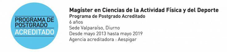 Universidad de Playa Ancha – Postgrado » Magíster en Ciencias de la Actividad Física y del Deporte
