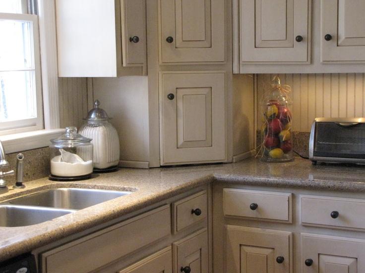 Beadboard and glazed cabinets kitchen ideas pinterest for Beadboard cabinets kitchen ideas