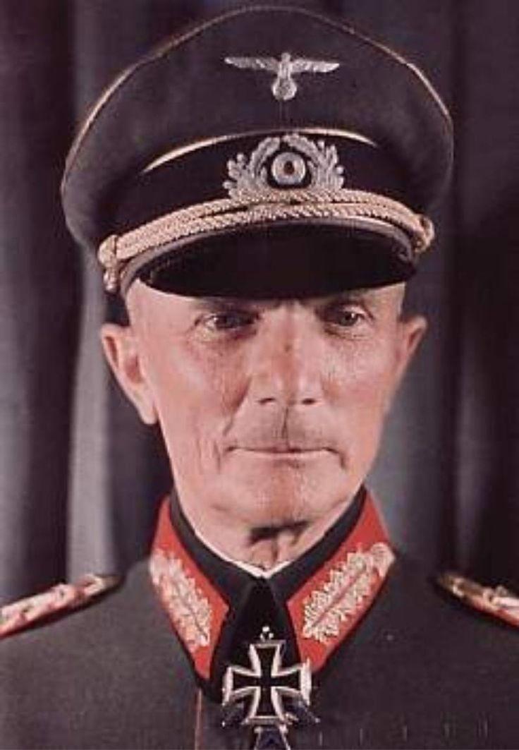 1941 Oberbefehlshaber der Heeresgruppe Mitte, Generalfeldmarschall Fedor von Bock