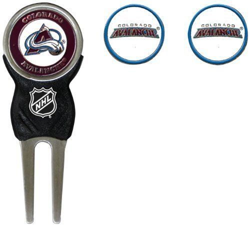 NHL Colorado Avalanche 3 Marker Sign Divot Pack by Team Golf. $16.99. 3 double sided enamel color fill magnetic markers. Nickel color finish. Pack includes our sleek Signature divot tool with soft PVC insert. Pack includes our sleek Signature divot tool and 3 double sided enamel color fill magnetic markers. Nickel color finish.