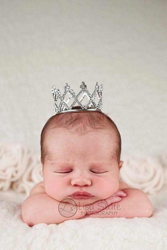 Newborn crown, newborn tiara, Baby headband, newborn headband, adult headband, child headband and photography prop Queen Victorian tiara
