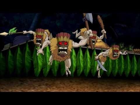 Aloha Scooby Doo Wiki Tiki Demons Attack - YouTube