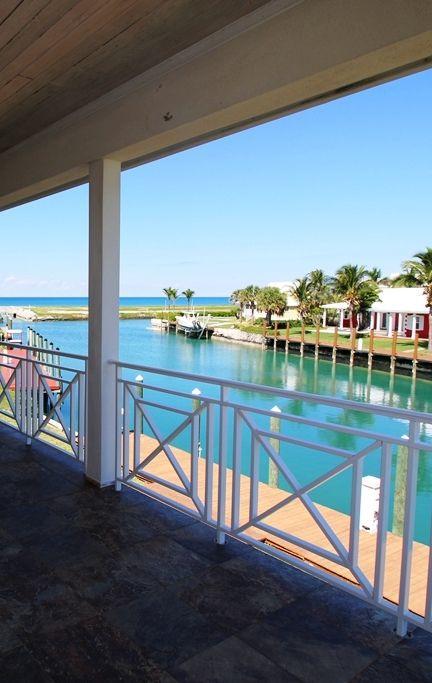 Stunning views from Villa Gardenia, West End, Grand Bahama Island