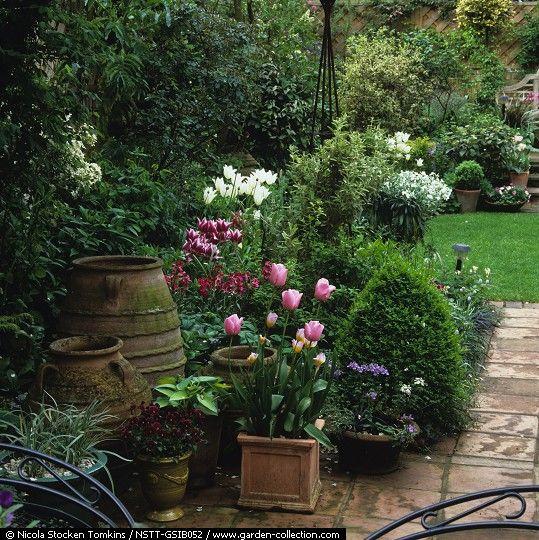 M s de 25 ideas incre bles sobre peque o jard n ingl s en - Diseno de jardines para casas de campo ...