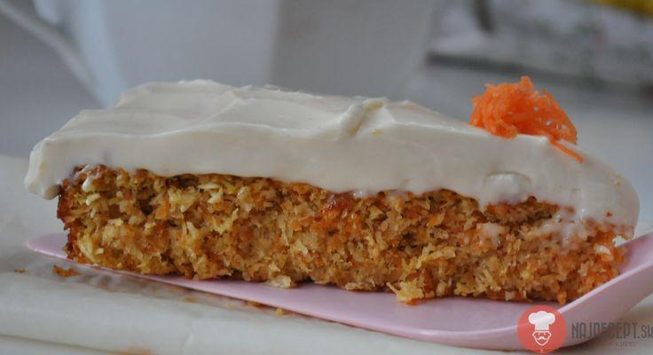 Fotorecept | Bezlepková mrkvová torta