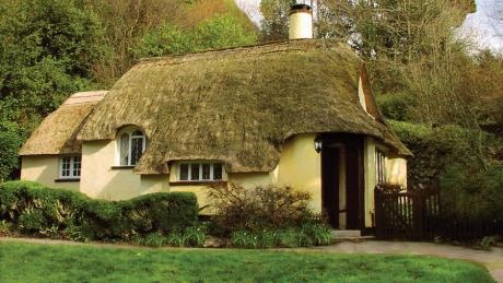 Exterior of Ivys Cottage, Selworthy Green, Minehead, Somerset