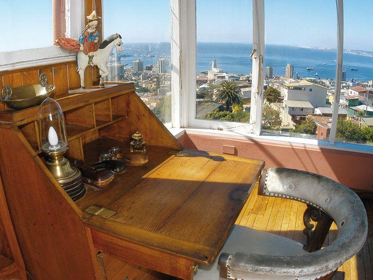 Casa Museo Pablo Neruda La Sebastiana, Valparaíso, Chile