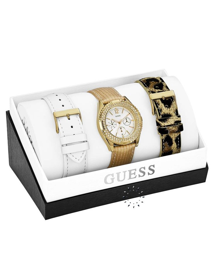 GUESS Multifunction Gold Crystal Box Set Η τιμή μας: 194€ http://www.oroloi.gr/product_info.php?products_id=36305