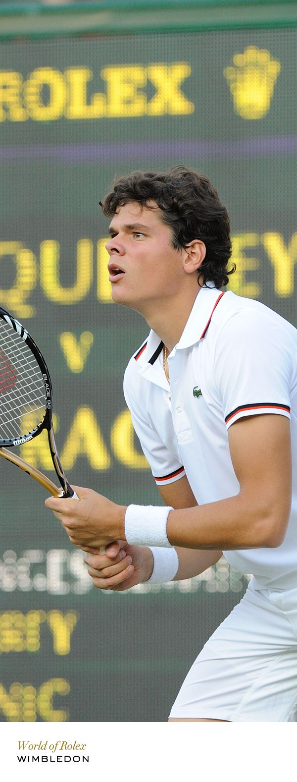 Wow, we finally have a contender for the top ten in men's tennis.  Exciting to watch Milos.