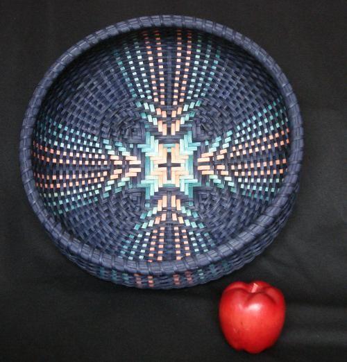 Tika Tucker - Lotus - Tidewater Basketry Guild- Guilders Weave