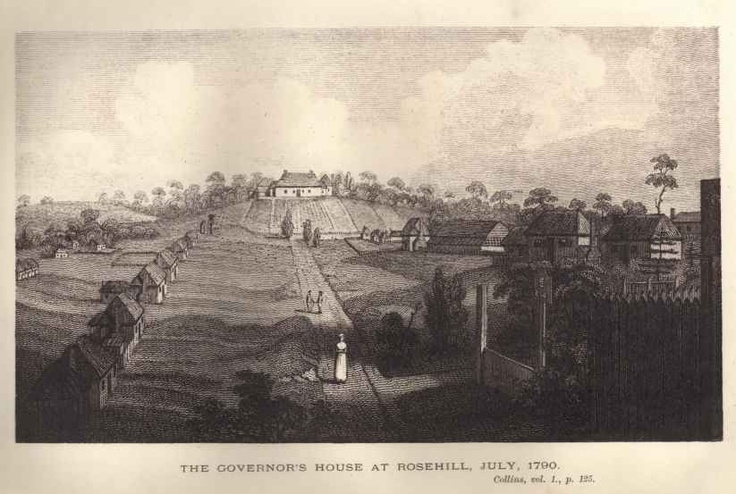 Governors House Rosehill 1790