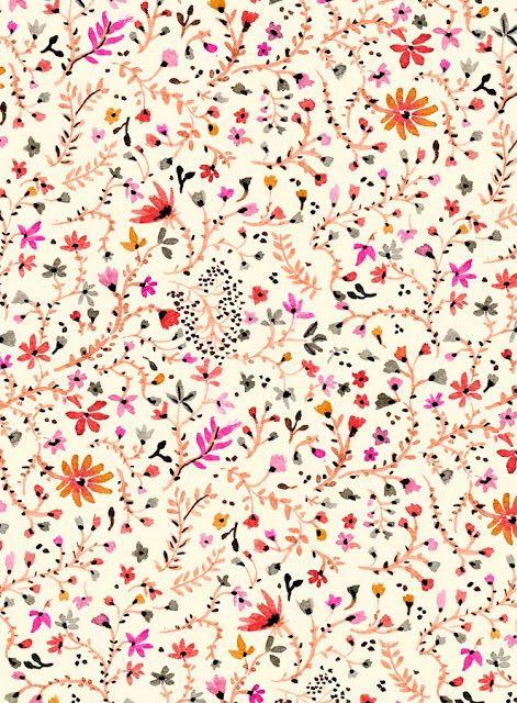 Vikki Chu: New Floral Pattern