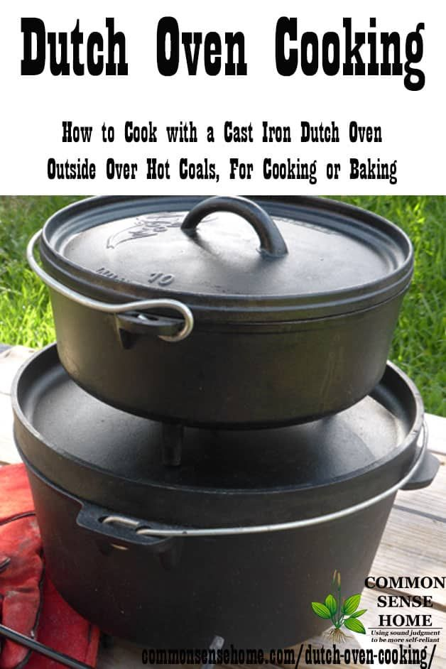 Easy Beef Stroganoff For The Dutch Oven Recipe Dutch Oven Cooking Oven Cooking Cast Iron Dutch Oven