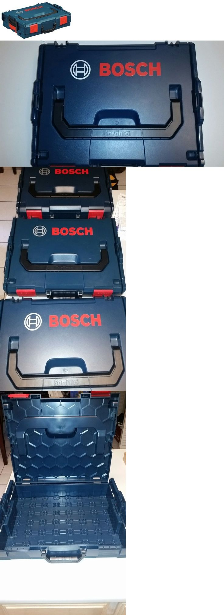 Boxes and Cabinets 42363: New Bosch L-Boxx-1 New Stackable Storage Case Toolbox Sortimo Lboxx Lboxx1 Lbox -> BUY IT NOW ONLY: $37.95 on eBay!