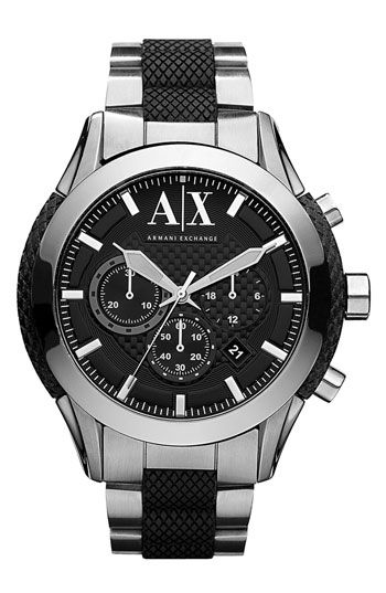 AX Armani Exchange Chronograph Bracelet Watch available at Nordstrom