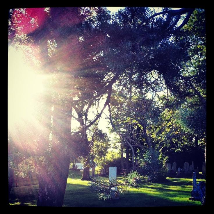 The old Lunenburg graveyard