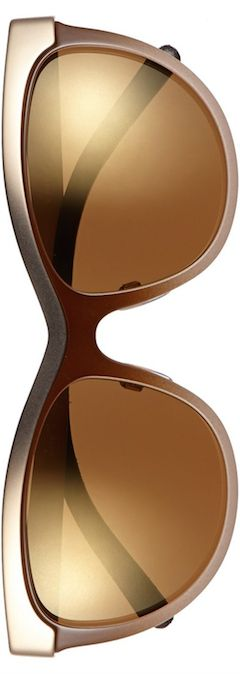 Burberry 57mm cat eye sunglasses (gold)  by LoLo