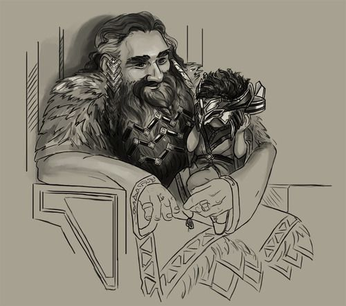 quotone day it will fit perfectquot thror with little thorin