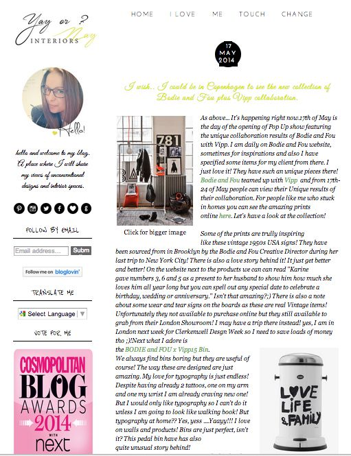 UK Thanks for the great post Yay or Nay Interiors! http://www.yayinteriors.co.uk/2014/05/i-wish-i-could-be-in-copenhagen-to-see.html