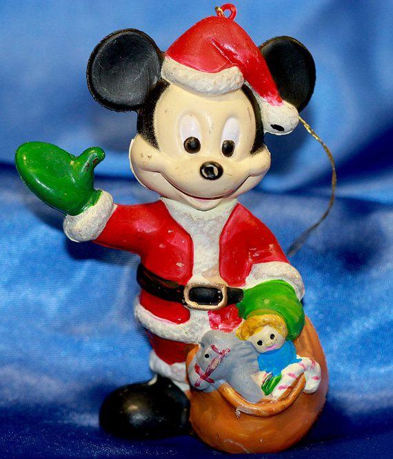 Mickey Mouse Ornament  Walt Disney Co Vintage by VintageTerrace
