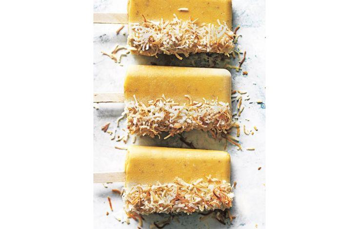 ijslolly's met mango, kokosnoot en chiazaad