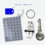 D I Y LEGO Key Holder