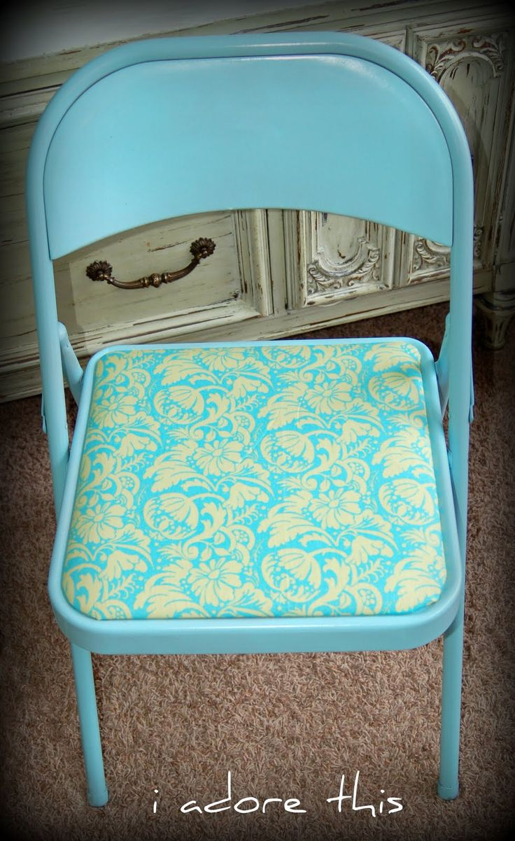 1000 ideas about metal folding chairs on pinterest painting metal beach chairs and folding. Black Bedroom Furniture Sets. Home Design Ideas