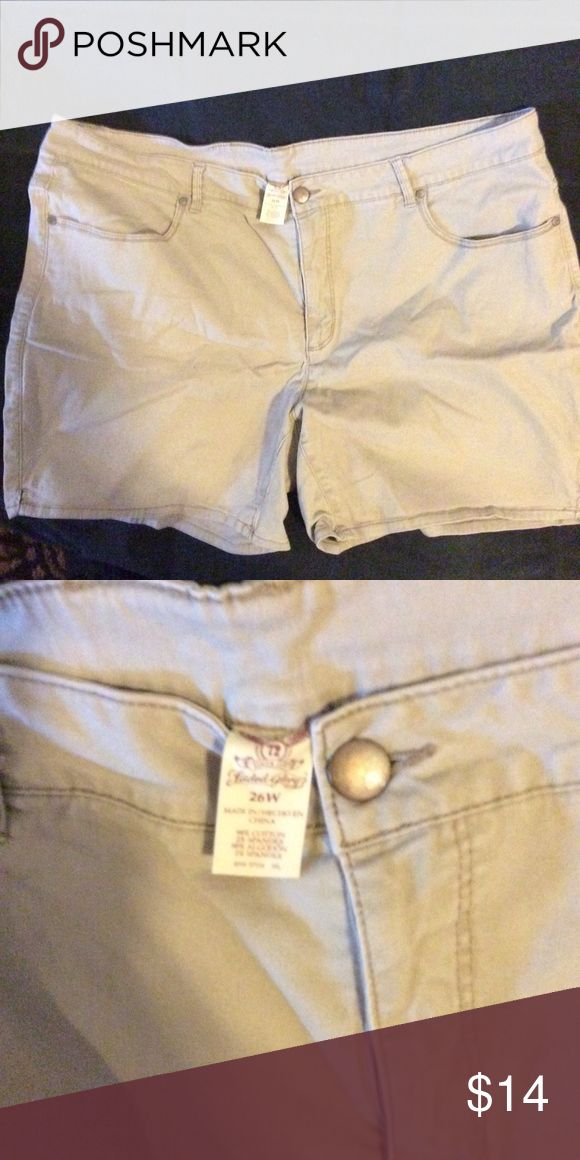 Faded Glory Plus size women's shorts Cover photo is just example the actual it…