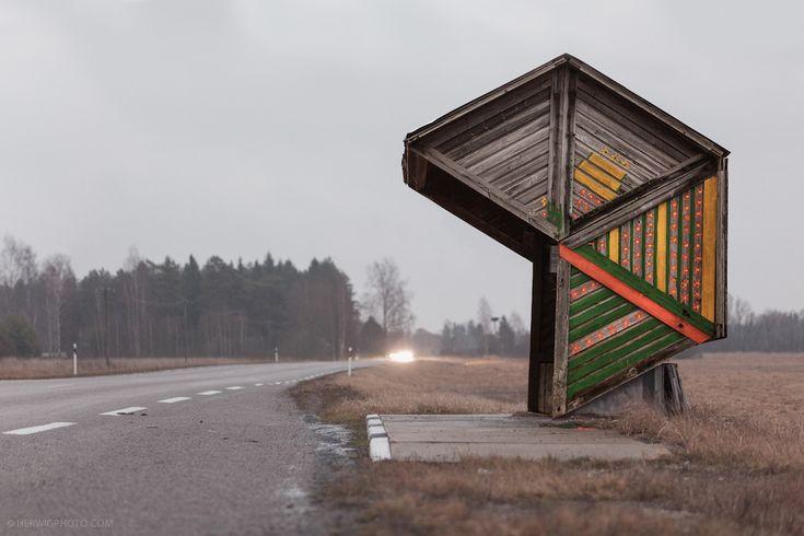 Fermate d'autobus sovietiche - Il Post