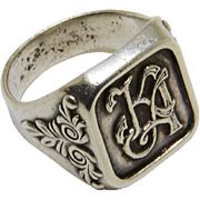 Signet Ring Silver 925