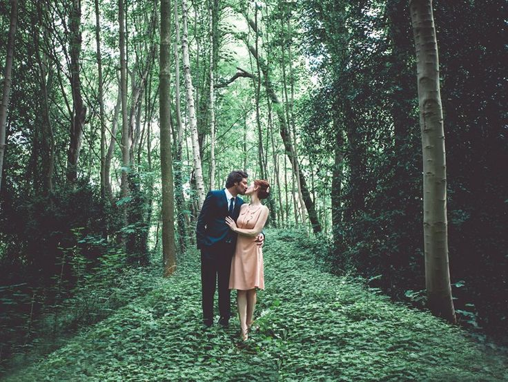 mariage nature - dans les bois - inspiration - shooting - foret
