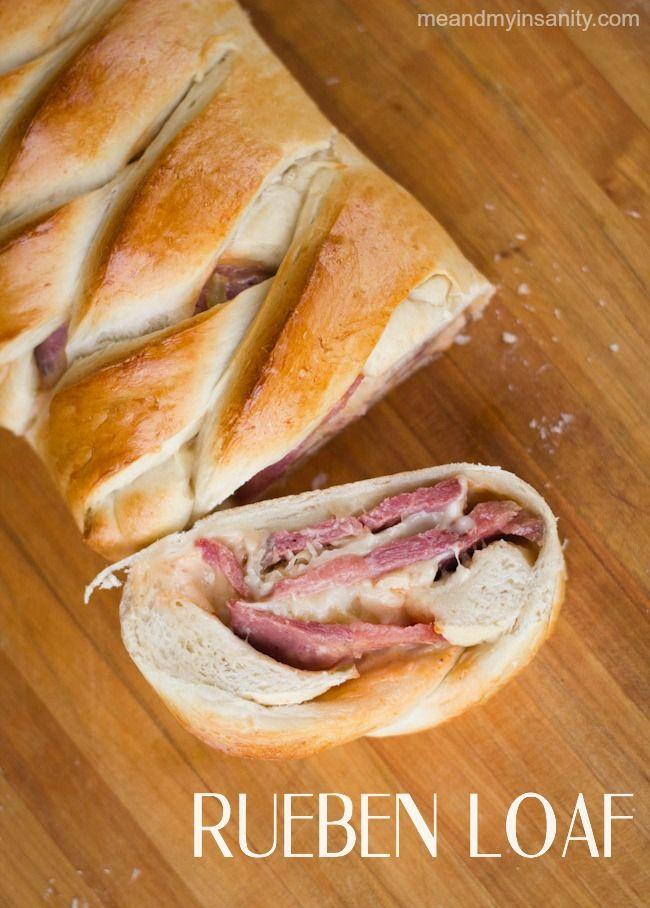 Rueben Loaf #recipe. Delicious option for #stpatricksday.