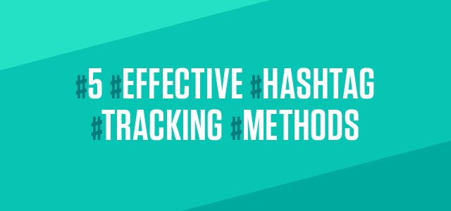 When it comes to hashtag tracking, a lot of companies are in the dark. Learn effective ways to track hashtags and social media marketing campaigns.