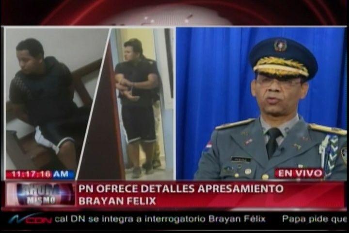 La Policía Nacional Revela Detalles Del Apresamiento De Brayan Félix Paulino Y Detienen Mayor Del Ejercito Identificado Como Miembro De…