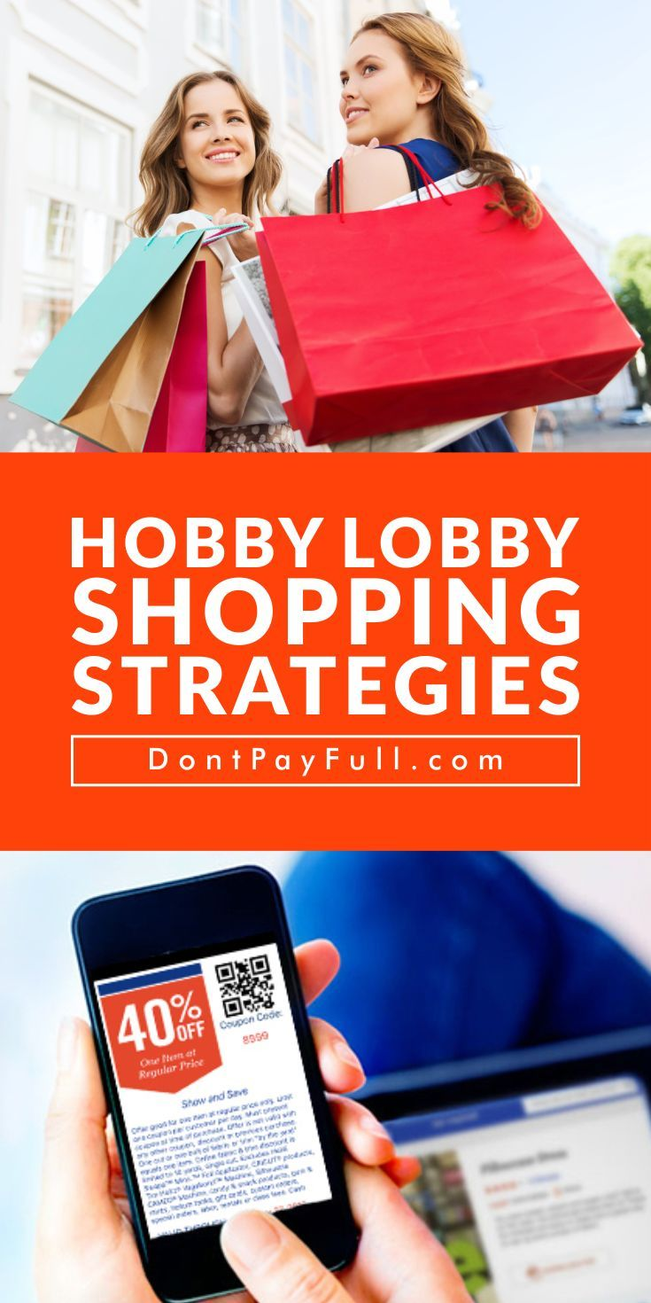 Money saving strategies you need to know before shopping Hobby Lobby! #DontPayFull