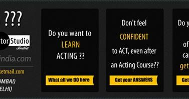 Best Acting Training In India  has a long history of the very best in cinema and production sessions. Our acting workshop is a place where actors can experiment with roles they might not otherwise have the opportunity for act.