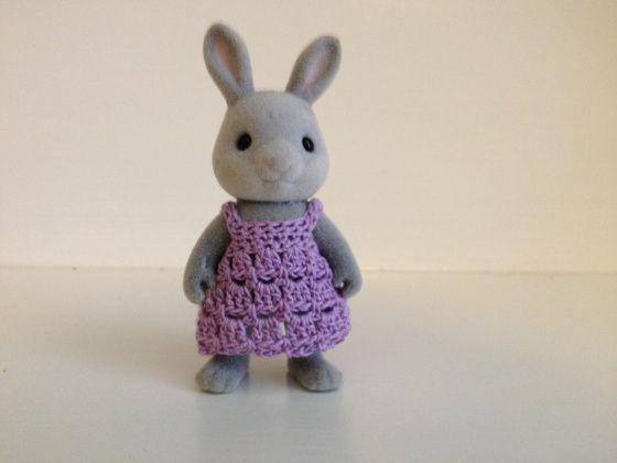 Calico Critter Crochet Sundress {Larger Size} ~ Pattern Modifications