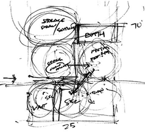 Schematic Design Space Planning