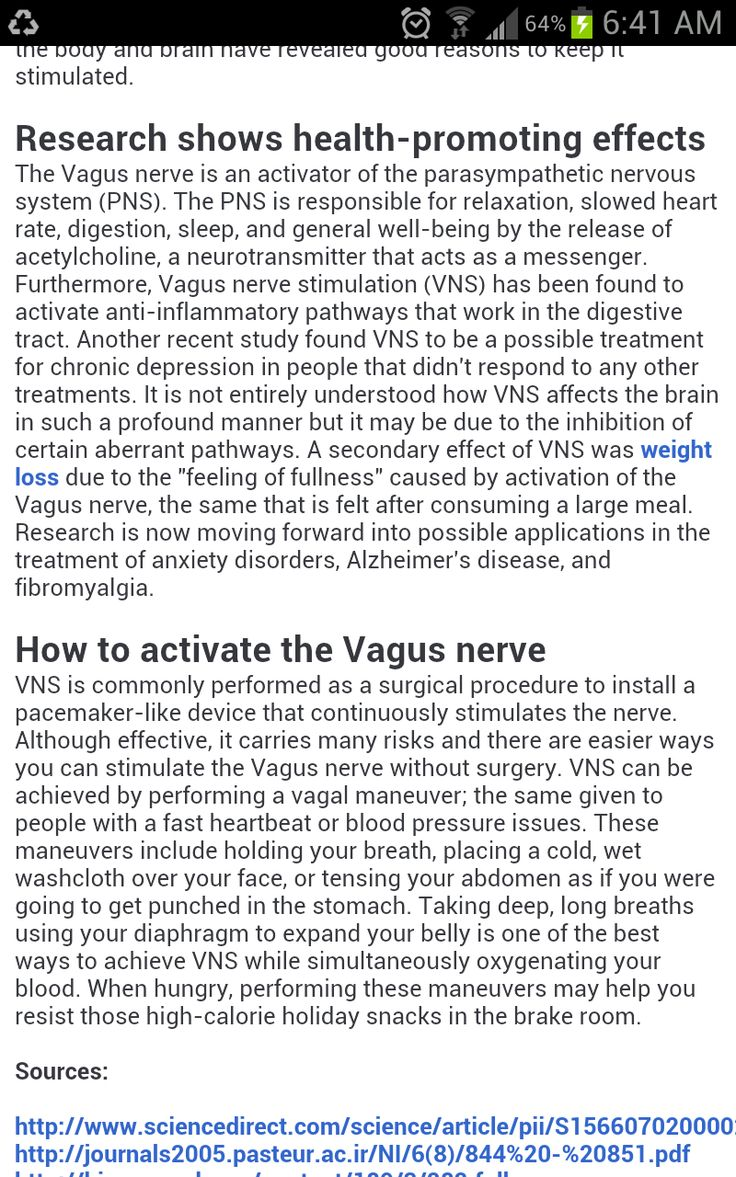 Vagus Nerve Damage Natural Remedies